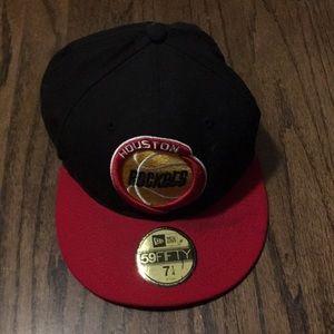Houston Rockets Flat Bill Hat